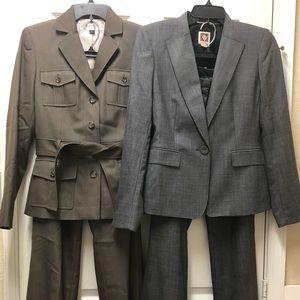2 Ladies Pants Suits - good condition!